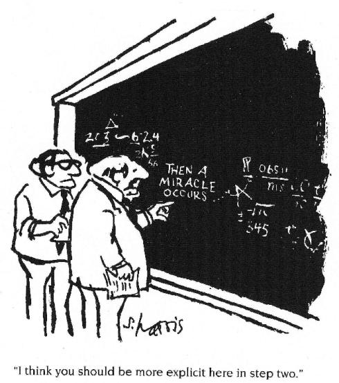 """Imagine a ciência pudesse apelar para o """"Deus quis assim"""" sempre... A roda ainda seria quadrada.."""